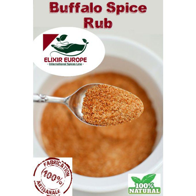 Buffalo Spice Rub - assaisonnement BBQ