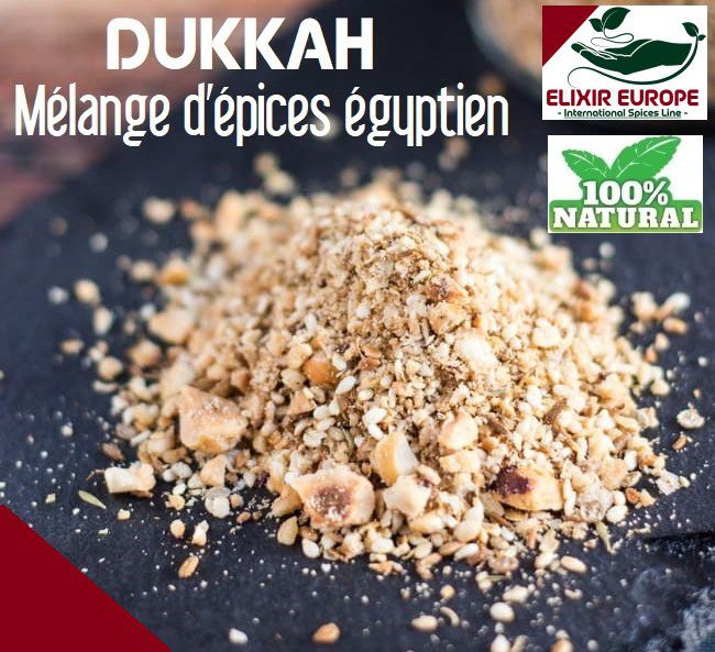 DUKKAH -melange d'epices egyptien