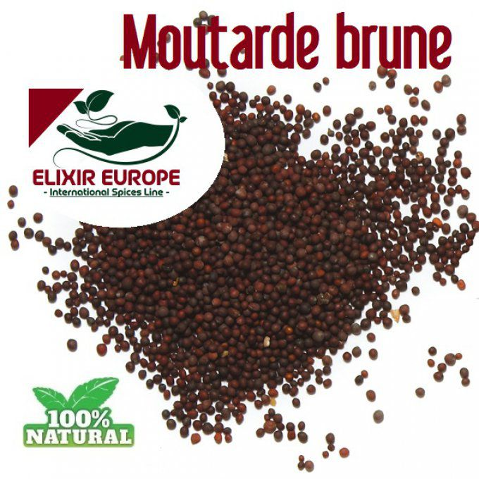 Moutarde brune - entiere